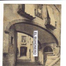 Postales: A.T.V.-546 - GERONA - DETALLE DE LA SUBIDA DE SANTO DOMINGO. Lote 27605223