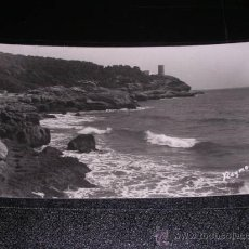 Postales - 9 TARRAGONA - UN ASPECTO DE LA COSTA, AL FONDO TORRE DE LA MORA, FOTO RAYMOND - 23181972