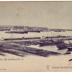 Postales: BARCELONA - PANORAMA DE MARCELONA IV.. Lote 23236045