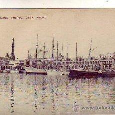 Postales: BARCELONA - PUERTO - VISTA PARCIAL.. Lote 23237323