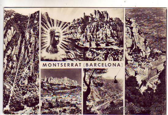 BARCELONA - MONTSERRAT - VISTAS. (Postales - España - Cataluña Moderna (desde 1940))