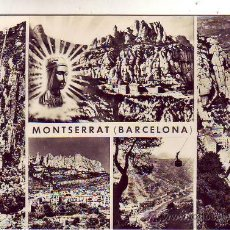 Postales: BARCELONA - MONTSERRAT - VISTAS.. Lote 23239944