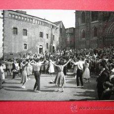 Postales: SARDANAS ANTE LA CATEDRAL - BARCELONA. Lote 23405585