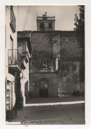 SOLSONA. FACHADA SAN AGUSTÍN. CATEDRAL. (ZERKOWITZ, Nº 22). (Postales - España - Cataluña Antigua (hasta 1939))