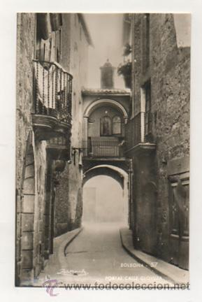 SOLSONA. PORTAL CALLE GLOVERA. (ZERKOWITZ, Nº 57). (Postales - España - Cataluña Antigua (hasta 1939))