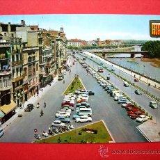 Postales: LLEIDA - AVINGUDA DE BLONDEL I RIU SEGRE.. Lote 23417289