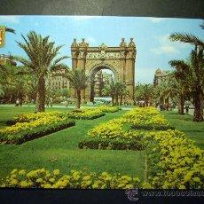 Postales: 7668 ESPAÑA CATALUÑA BARCELONA PASEO LLUIS COMPANYS Y ARCO AÑOS 60/70 ESCRITA - TENGO MAS POSTALES. Lote 23425774