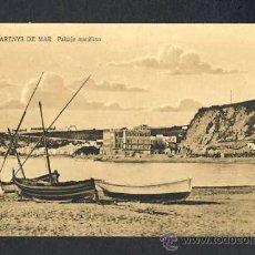 Postales: POSTAL D' ARENYS DE MAR (BARCELONA): PAISATGE MARÍTIM (FOTO GRUNER). Lote 23577287