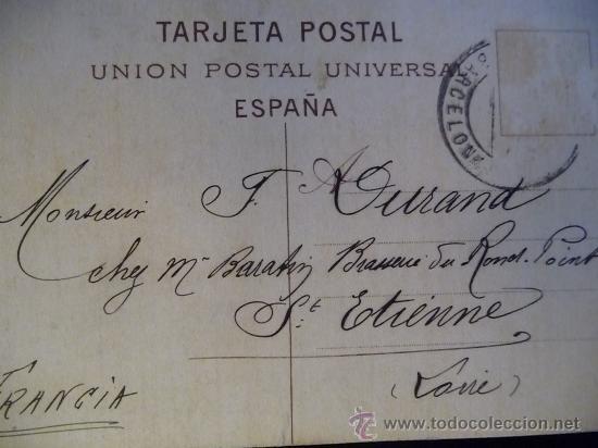 Postales: BARCELONA - PANORAMICA DEL FUNICULAR AL TIBIDABO -- año 1906 - Foto 2 - 26436430