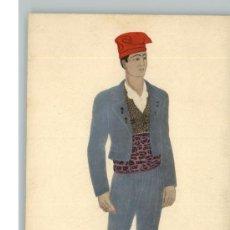 Postales: EMILE GALLOIS, BONITA TARJETA POSTAL SEÑOR CON TRAJE TÍPICO DE CATALUÑA , DATA / AÑO 1900 - 1920 S. Lote 26474230