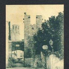 Postales: POSTAL DE BARCELONA: PEDRALBES, ENTRADA AL CASERIU (THOMAS, LB NUM.150). Lote 23832639