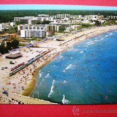 Postales: PLAYA DE CAMBRILS- COSTA DORADA. Lote 23967337