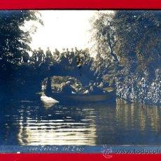 Postales: BARCELONA, PARQUE, DETALLE DEL LAGO, FOTOGRAFICA, P45442. Lote 23981426
