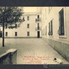 Postales: POSTAL DE CERDANYOLA (BARCELONA): GRANJA FLOR DE MAIG: TERRASSA DEL NOU EDIFICI (ROISIN NUM.4). Lote 23986037