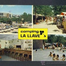 Postales: POSTAL DE CANET DE MAR (BARCELONA): CAMPING LA LLAVE. Lote 214226632