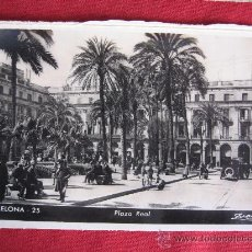 Postales: BARCELONA - PLAZA REAL. Lote 24472359