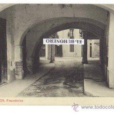 Postales: 13 - IGUALADA . PESCADERÍAS - 3300 FOTOTIPIA THOMAS - BARCELONA. Lote 26215665