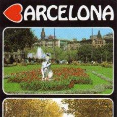Postales: BARCELONA Nº 524 DIFERENTS ASPECTES ED. FISA . Lote 24288904