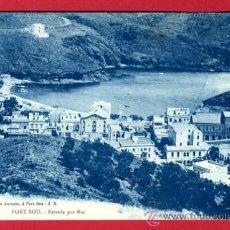 Postales: PORT-BOU, GERONA, ESTRADA POR MAR, P48970. Lote 24453096
