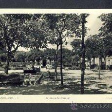 Postales: POSTAL DE GRANOLLERS (BARCELONA): JARDINS DEL PARC (FOT.GUILERA NUM.9). Lote 24620961