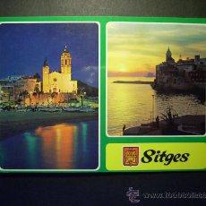 Postales: 8850 ESPAÑA SPAIN CATALUÑA BARCELONA SITGES COSTA DORADA POSTCARD AÑOS 60 ESCRITA TENGO MAS POSTALES. Lote 24672752