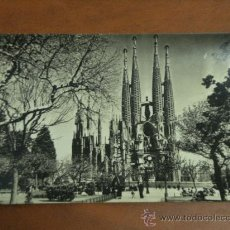 Postales: BARCELONA. SAGRADA FAMILIA. Lote 26311394