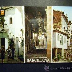Postales: 8932 ESPAÑA SPAIN CATALUÑA BARCELONA PUEBLO ESPAÑOL POSTCARD AÑOS 60/70 ESCRITA - TENGO MAS POSTALES. Lote 24769126
