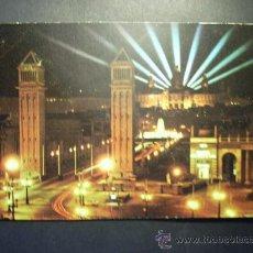 Postales: 8947 ESPAÑA SPAIN CATALUÑA BARCELONA FUENTE MONUMENTAL DESDE PLAZA ESPAÑA AÑOS 70 TENGO MAS POSTALES. Lote 24769648