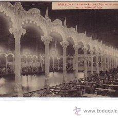 Postales: BARCELONA.- SATURNO PARQUE. Lote 24874158
