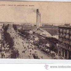 Postales: BARCELONA.- CALLE DEL MARQUES DEL DUERO. Lote 24874210