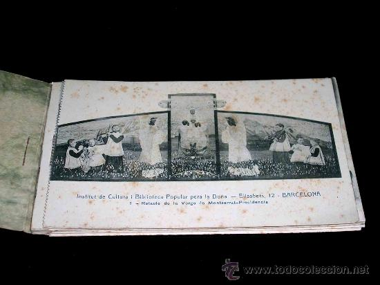 Postales: Conjunto 12 postales Institut de Cultura i Biblioteca Popular per la Dòna. . - Foto 3 - 25004783