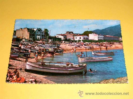POSTAL COSTA BRAVA, TOSSA DE MAR. PLAYA VISTA PARCIAL. SIN CIRCULAR. (Postales - España - Cataluña Moderna (desde 1940))