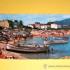 Postales: POSTAL COSTA BRAVA, TOSSA DE MAR. PLAYA VISTA PARCIAL. SIN CIRCULAR.. Lote 25005288