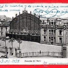 Postales: BONITA POSTAL DE ESTACION DEL NORTE DE BARCELONA ESCRITA EL AÑO 03 - 11 - 1957 EDICION MAURI. Lote 25120747