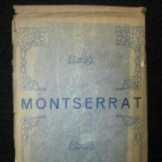 Postales: TARJETAS POSTALES. LOTE DE 6. MONTSERRAT. AÑOS 30.. Lote 25235726