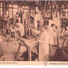 Postales: BARCELONA - ESCUELAS SALESIANAS -SARRIA -TALLER- ESCUELA DE ESCULTURA - (5648). Lote 25554059