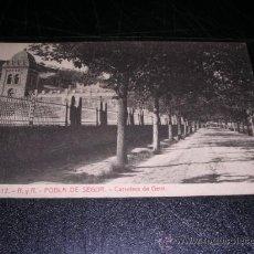 Postales: Nº 12.- R.Y R.-POBLA DE SEGUR - CARRETERA DE GERRI -ODROG.- FOTOTIP. THOMAS 14X9 CM. . Lote 25557465