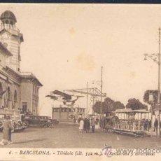 Postales: BARCELONA.- TIBIDABO.-RESTAURANT Y ATRACCIONES. Lote 25619321