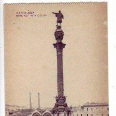 Postales: BARCELONA - MONUMENTO A COLON. Lote 25775167