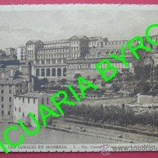 Postales: SAN IGNACIO EN MANRESA - STA CUEVA - VISTA GENERAL DEL EDIFICIO. Lote 25910247
