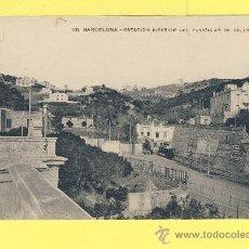 Postales: POSTAL BARCELONA 102 ESTACION INFERIOR DEL FUNICULAR DE VALLVÍDRERA MISSÉ HS. BARNA -P 514. Lote 25998845