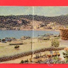 Postales: POSTAL PANORAMICA DE SANT FELIU DE GÚXOLS EDITADA POR A. CAMPAÑA Y J. PUIG FERRÁN ESCRITA . Lote 26017739
