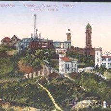Postales: BARCELONA.- TIBIDABO-CUMBRE. Lote 26386354