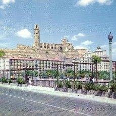 Postales: ESPAÑA. T. P. LÉRIDA. Nº 1. VISTA PARCIAL Y LA SEO, ANTIGUA CATEDRAL. NUEVA.. Lote 26432403