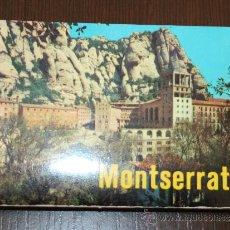 Postales: DESPLEGABLE CO 14 MINI POSTALES DE MONTSERRAT - 10 X 7 CENTIMETROS. Lote 26455786