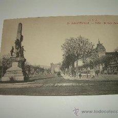 Postales: POSTAL.....BARCELONA...SALON DE SAN JUAN. Lote 26506821