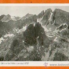 Postales: VALL DE LA RATERA - LÉRIDA - Nº 3727 ZERKOWITZ - SIN CIRCULAR. Lote 26701056