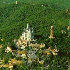 Postales: BARCELONA CUMBRE DEL TIBIDABO NUEVA SIN CIRCULAR POSTALES COLOR CYP . Lote 26701608