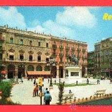 Postales: POSTAL DE REUS PLAZA PRIM Nº 9 EDICION RAYMOND ESCRITA EL AÑO 1983. Lote 26879064