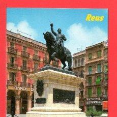 Postales: POSTAL DE REUS MONUMENTO AL GENERAL PRIM Nº 10 EDICION RAYMOND SIN CIRCULAR . Lote 26879141